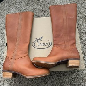 Brand new***Chaco tall boots waterproof
